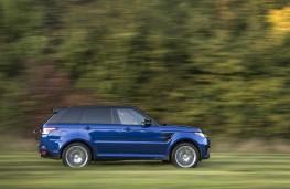 Range Rover Sport SVR, sprint test, grass