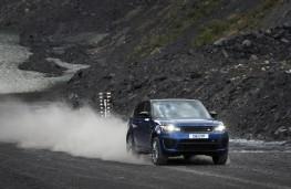 Range Rover Sport SVR, sprint test, gravel
