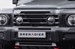Ineos Grenadier, 2020, grille