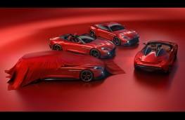 Aston Martin Vanquish Zagato group, 2017