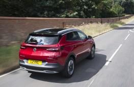 Vauxhall Grandland X, 2021, rear