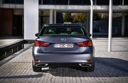 Lexus GS Hybrid, rear