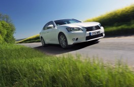 Lexus GS 250, action