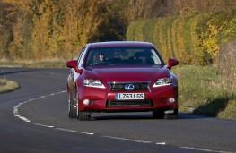 Lexus GS 300h, front, action