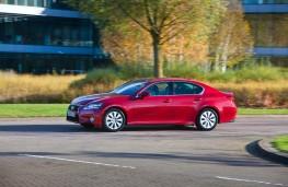 Lexus GS 300h, side, action