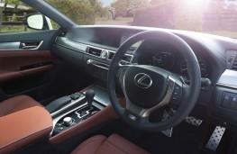 Lexus GS 450h, interior
