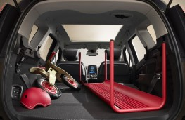 Renault Grand Scenic, 2017, boot loaded