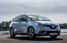 Renault Grand Scenic, 2016, front