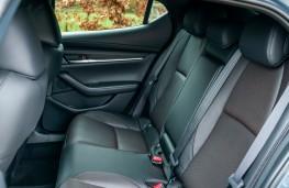 Mazda3, 2019, rear seats