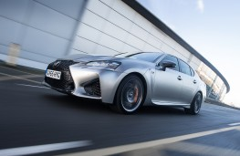 Lexus GS F, front, action