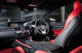 Lexus GS F, interior