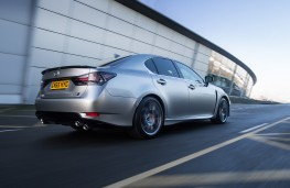 Lexus GS F, rear, action