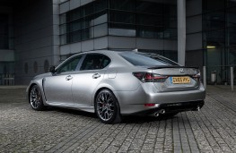 Lexus GS F, rear, static