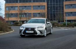 Lexus GS 300h, front