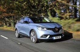 Renault Grand Scenic, 2016, front, action