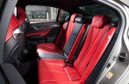 Lexus GS F, rear seats