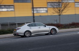 Lexus GS F, side, action