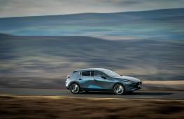 Mazda3, 2019, side, action