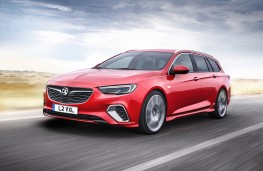 Vauxhall Insignia GSi Sports Tourer, 2017, front