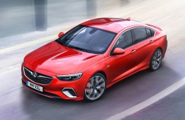 Vauxhall Insignia GSi Grand Sport, 2017, front