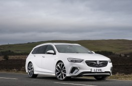 Vauxhall Insignia GSi Sports Tourer, 2019, front, static