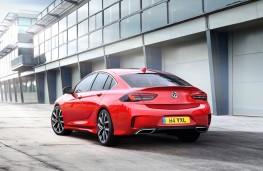 Vauxhall Insignia GSi Grand Sport, 2017, rear