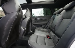 Vauxhall Insignia GSi Sports Tourer, 2019, rear seats