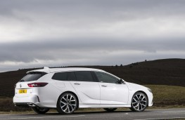 Vauxhall Insignia GSi Sports Tourer, 2019, side, static