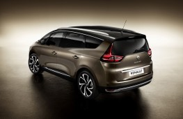 Renault Grand Scenic, 2017, rear
