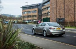 Lexus GS 300h, rear