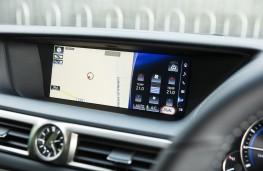 Lexus GS 300h, display screen