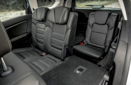 Renault Grand Scenic, 2016, rear seats