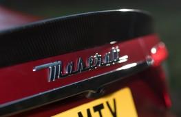 Maserati GranTurismo, 2018, badge