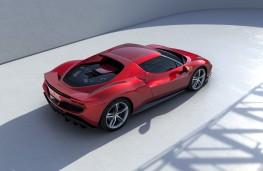 Ferrari 296 GTB, 2021, rear