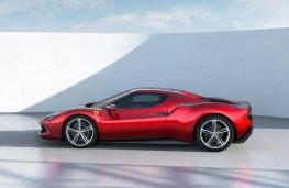 Ferrari 296 GTB, 2021, side
