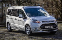 Ford Grand Tourneo Connect, front