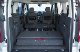 Ford Grand Tourneo Connect, max cargo space