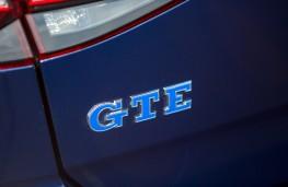 Volkswagen Golf GTE, 2017, badge