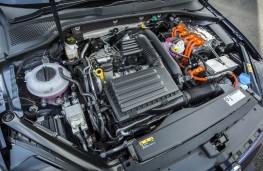 Volkswagen Golf GTE, 2017, engine