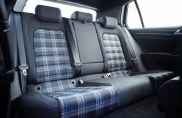 Volkswagen Golf GTE, 2017, rear seats