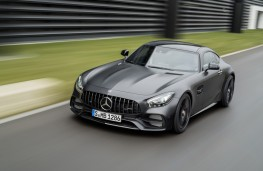Mercedes-AMG GT C Coupe Edition 50, 2017, front