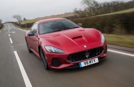 Maserati GranTurismo, 2018, front, action