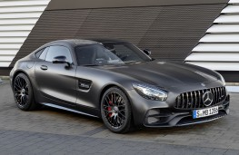 Mercedes-AMG GT C Coupe Edition 50, 2017, front, static