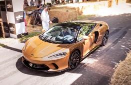 McLaren GT, 2021, front, start