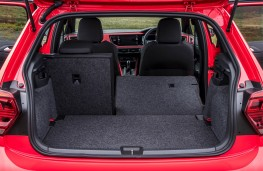 Volkswagen Polo GTI, 2018, boot, seat folded