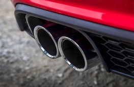 Volkswagen Polo GTI, 2018, exhaust