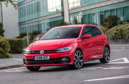 Volkswagen Polo GTI, 2018, front, action