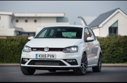 Volkswagen Polo GTI, front