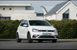 Volkswagen Polo GTI, front, action