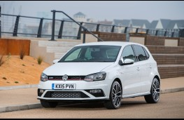 Volkswagen Polo GTI, front, static